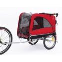 KidsCab Cares for Dogs L bike trailer