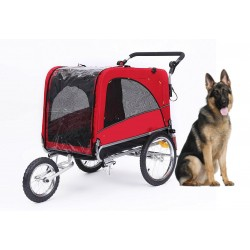 KidsCab Cares for Dogs L bike trailer