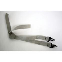 Burley seat belt DLITE / Cub / Solo 2010-2013 Grau