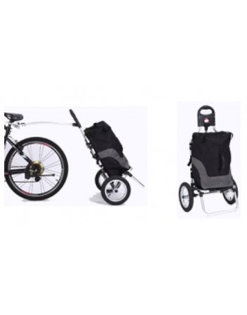 KidsCab Shopper bike trailer