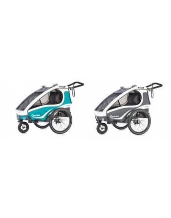 Qeridoo KidGoo 2 fietskar 2020