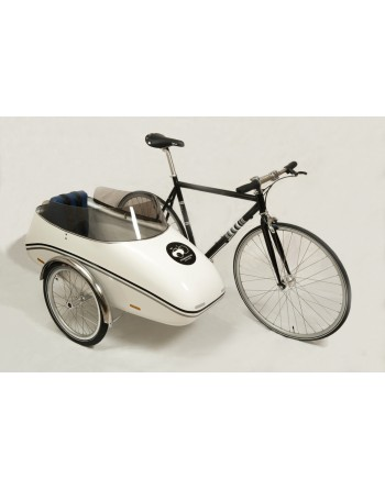 Scandinavian sidecar bike...