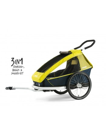 Croozer Kid for 1 lemon green