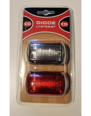 Nihola front and rear light