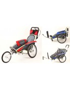 Special needs bicycle trailer