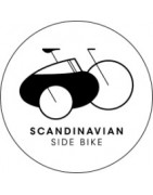Scandinavian side bike fietskarren